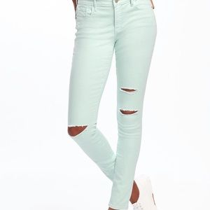 Old navy mint colored jeans